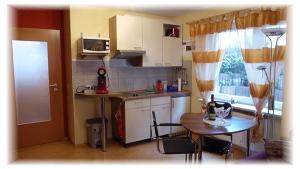 Appartment mieten Metzingen Urlaub Gästehaus Taraba Appartment Küchenzeile