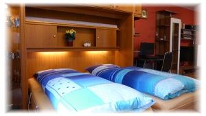 Appartment mieten Metzingen Urlaub Gästehaus Taraba Schlafbereich